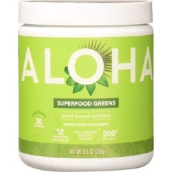 Superfood Greens Original 9.5 Oz by Aloha