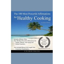 The 100 Most Powerful Affirmations for Healthy Cooking found on Bargain Bro India from audiobooksnow.com for $7.49