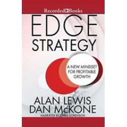 Edge Strategy: A New Mindset for Profitable Growth found on Bargain Bro India from audiobooksnow.com for $9.99
