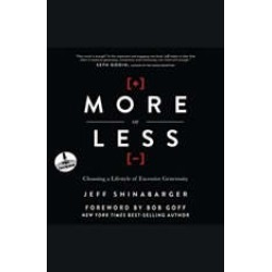 More or Less: Choosing a Lifestyle of Excessive Generosity found on Bargain Bro Philippines from audiobooksnow.com for $9.09