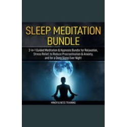 Guided Meditation: 2-in-1 Hypnosis Bundle for Manifesting Abundance & Thinking Positive (Self Hypnosis, Affirmations, Guided I