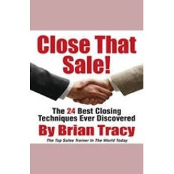 Close That Sale!: The 24 Best Sales Closing Techniques Ever Discovered found on Bargain Bro India from audiobooksnow.com for $2.99