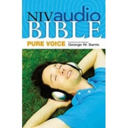 A NIVudio Bible, Pure Voice: New Testamentudio Download (Narrated by George W. Sarris)