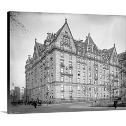 Large Gallery-Wrapped Canvas Wall Art Print 20 x 18 entitled The Dakota apartments at 72nd Street and Central Park West in... found on Bargain Bro India from Great Big Canvas - Dynamic for $149.99
