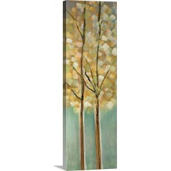 Large Solid-Faced Canvas Print Wall Art Print 16 x 48 entitled Shandelee Woods I