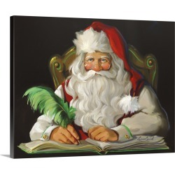 Large Gallery-Wrapped Canvas Wall Art Print 20 x 16 entitled Naughty or Nice found on Bargain Bro India from Great Big Canvas - Dynamic for $189.99