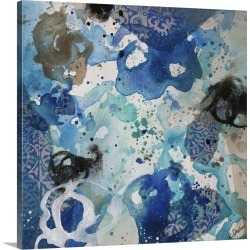 Large Gallery-Wrapped Canvas Wall Art Print 16 x 16 entitled Convivial Play VII found on Bargain Bro India from Great Big Canvas - Dynamic for $169.99
