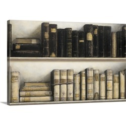 Large Gallery-Wrapped Canvas Wall Art Print 24 x 16 entitled World of Books found on Bargain Bro India from Great Big Canvas - Dynamic for $214.99