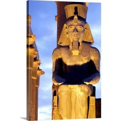 Large Gallery-Wrapped Canvas Wall Art Print 16 x 24 entitled Egypt, Nile Valley, Luxor, Temple of Luxor, The colossus of R... found on Bargain Bro India from Great Big Canvas - Dynamic for $214.99