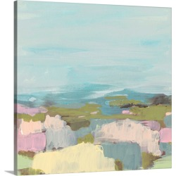 Large Solid-Faced Canvas Print Wall Art Print 20 x 20 entitled Sweet Scape II