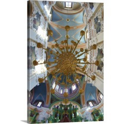 Large Gallery-Wrapped Canvas Wall Art Print 16 x 24 entitled Interior of Orthodox of the Holy Spirit, Vilnius, Lithuania found on Bargain Bro India from Great Big Canvas - Dynamic for $214.99