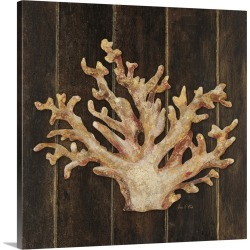 Large Gallery-Wrapped Canvas Wall Art Print 16 x 16 entitled Ocean Coral found on Bargain Bro India from Great Big Canvas - Dynamic for $164.99