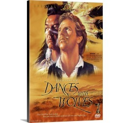 Large Gallery-Wrapped Canvas Wall Art Print 20 x 30 entitled Dances With Wolves (1990) found on Bargain Bro Philippines from Great Big Canvas - Dynamic for $209.99