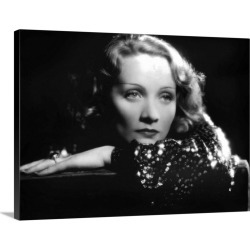 Large Solid-Faced Canvas Print Wall Art Print 24 x 18 entitled SHANGHAI EXPRESS With Marlene Dietrich, 1932 found on Bargain Bro Philippines from Great Big Canvas for $154.99
