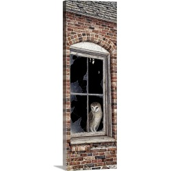 Large Solid-Faced Canvas Print Wall Art Print 12 x 36 entitled The Look Out