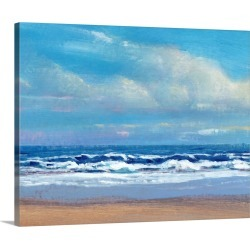 Large Solid-Faced Canvas Print Wall Art Print 30 x 24 entitled Shoreline Light II found on Bargain Bro Philippines from Great Big Canvas - Dynamic for $189.99