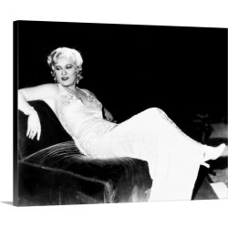 Large Gallery-Wrapped Canvas Wall Art Print 20 x 16 entitled Mae West (1892-1980)