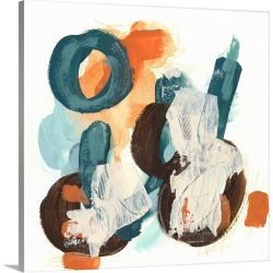Large Solid-Faced Canvas Print Wall Art Print 20 x 20 entitled Circular Intent I found on Bargain Bro Philippines from Great Big Canvas - Dynamic for $129.99