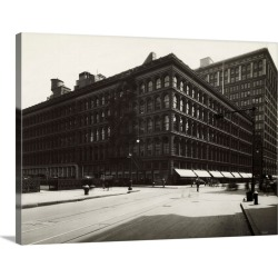 Large Solid-Faced Canvas Print Wall Art Print 40 x 30 entitled Wanamaker's Department Store