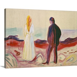 Large Solid-Faced Canvas Print Wall Art Print 40 x 30 entitled The Lonely Ones