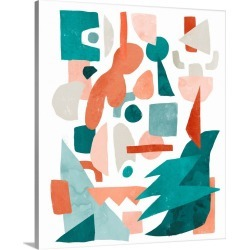Large Solid-Faced Canvas Print Wall Art Print 20 x 24 entitled Maximalist - Jumble I found on Bargain Bro Philippines from Great Big Canvas for $154.99