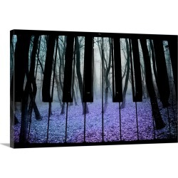 Large Gallery-Wrapped Canvas Wall Art Print 24 x 16 entitled Play the Mystical Autumn found on Bargain Bro India from Great Big Canvas - Dynamic for $214.99
