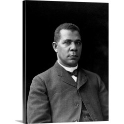 Large Gallery-Wrapped Canvas Wall Art Print 18 x 24 entitled Educator And Writer Booker T. Washington found on Bargain Bro India from Great Big Canvas - Dynamic for $184.99