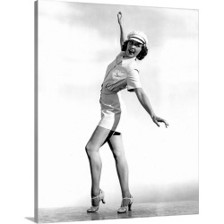 Large Solid-Faced Canvas Print Wall Art Print 24 x 30 entitled Eleanor Powell in Born to Dance - Vintage Publicity Photo