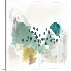 Large Solid-Faced Canvas Print Wall Art Print 20 x 20 entitled Rain Cloud II