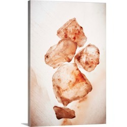 Large Gallery-Wrapped Canvas Wall Art Print 16 x 24 entitled Himalayan salt found on Bargain Bro India from Great Big Canvas - Dynamic for $224.99