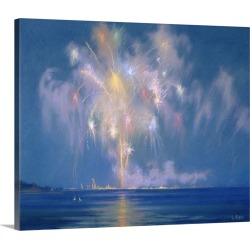 Large Gallery-Wrapped Canvas Wall Art Print 30 x 25 entitled The Grand Finale, late 19th-early 20th century