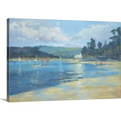 Large Solid-Faced Canvas Print Wall Art Print 30 x 20 entitled Late Afternoon Light, 2008