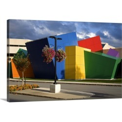 Large Gallery-Wrapped Canvas Wall Art Print 24 x 16 entitled Strong National Museum of Play, Rochester, New York State found on Bargain Bro India from Great Big Canvas - Dynamic for $224.99