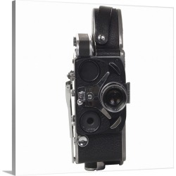 Large Gallery-Wrapped Canvas Wall Art Print 20 x 20 entitled Vintage film camera
