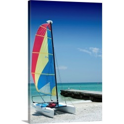 Large Gallery-Wrapped Canvas Wall Art Print 16 x 24 entitled Boat found on Bargain Bro India from Great Big Canvas - Dynamic for $214.99