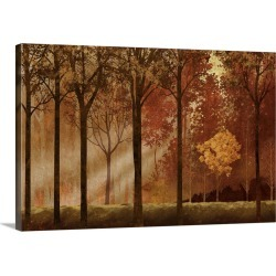 Large Gallery-Wrapped Canvas Wall Art Print 24 x 16 entitled Streaming Light