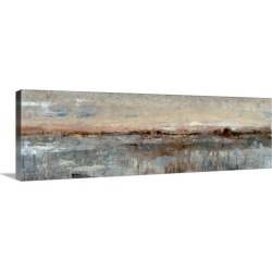 Large Solid-Faced Canvas Print Wall Art Print 48 x 16 entitled Grey Mist I found on Bargain Bro Philippines from Great Big Canvas - Dynamic for $199.99