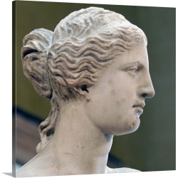 Large Gallery-Wrapped Canvas Wall Art Print 20 x 18 entitled Head Of Venus De Milo found on Bargain Bro India from Great Big Canvas - Dynamic for $204.99