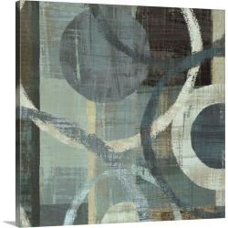 Large Solid-Faced Canvas Print Wall Art Print 20 x 20 entitled Metalic Tranquility II