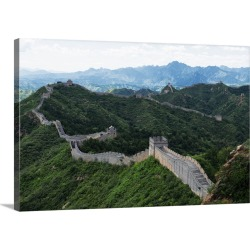 Large Solid-Faced Canvas Print Wall Art Print 30 x 20 entitled Great Wall of China found on Bargain Bro India from Great Big Canvas - Dynamic for $169.99