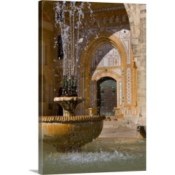 Large Gallery-Wrapped Canvas Wall Art Print 20 x 30 entitled Lebanon, Mount Lebanon, Beiteddine, Beiteddine Palace