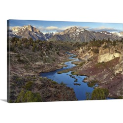 Large Gallery-Wrapped Canvas Wall Art Print 24 x 16 entitled Hot Creek Geothermal Area, California found on Bargain Bro India from Great Big Canvas - Dynamic for $214.99