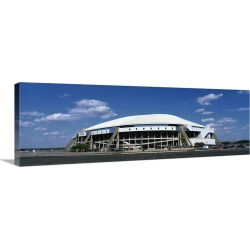 Large Gallery-Wrapped Canvas Wall Art Print 30 x 10 entitled Texas Stadium
