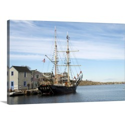 Large Solid-Faced Canvas Print Wall Art Print 30 x 20 entitled Rockport, Massachusetts, New England, United States of Amer... found on Bargain Bro Philippines from Great Big Canvas - Dynamic for $174.99