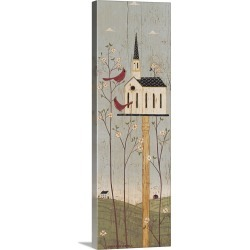 Large Gallery-Wrapped Canvas Wall Art Print 10 x 36 entitled Dogwood Time found on Bargain Bro India from Great Big Canvas - Dynamic for $244.99