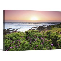 Large Gallery-Wrapped Canvas Wall Art Print 24 x 16 entitled Smells like spring's spirit, Cambria - USA Trippin