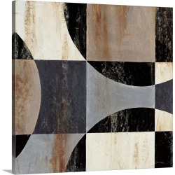Large Solid-Faced Canvas Print Wall Art Print 20 x 20 entitled Interlocking Circles II found on Bargain Bro India from Great Big Canvas - Dynamic for $129.99