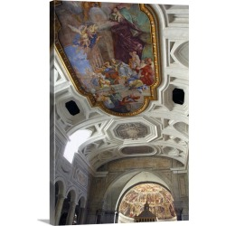 Large Gallery-Wrapped Canvas Wall Art Print 16 x 24 entitled Europe, Italy, Rome. St. Peter in Chains (aka San Pietro in V...