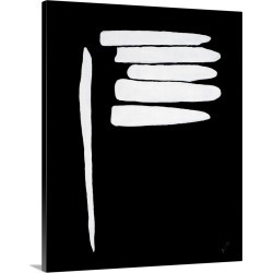 Large Solid-Faced Canvas Print Wall Art Print 24 x 30 entitled Blinded By The White