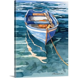 Large Gallery-Wrapped Canvas Wall Art Print 23 x 30 entitled Vernazza Reflection found on Bargain Bro India from Great Big Canvas - Dynamic for $219.99